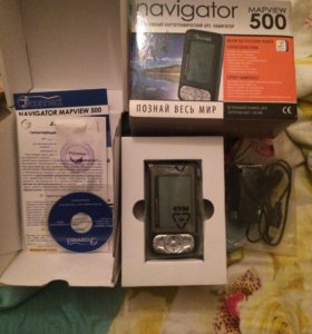 Портативный картографический GPS навигатор..обмен