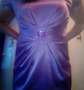 Платье длинное размер 48-50