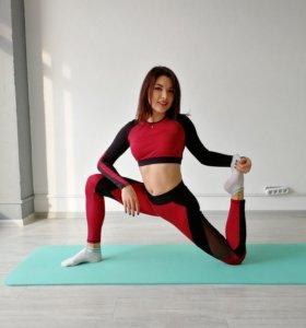 Коврики для растяжки, фитнеса и йоги