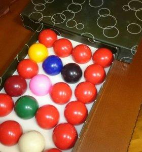 Продам комплект шаров для английского снукера