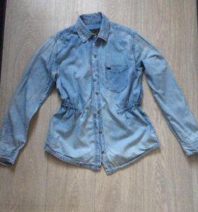 Рубашка джинсовая Obey