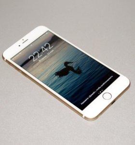 Apple iPhone 6 plus 16gb gold (рст в идеале)