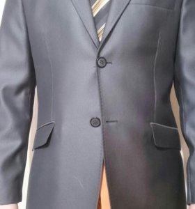 Костюм на выпускной, рубашка, галстук, туфли