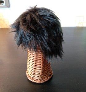 силиконовая шапочка и парик для бжд куклы bjd