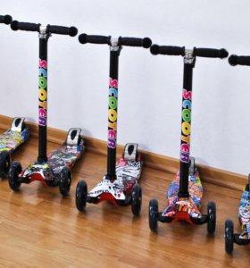 «Самокат (скутер) детский Scooter- 21ST