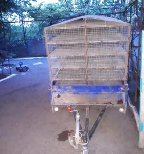 Прицеп для перевозки птицы