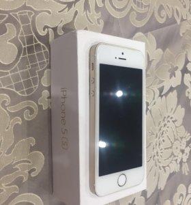 iPhone 5 S золотой, 32 gb