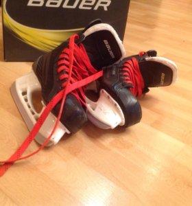 Хоккейные коньки bauer supreme 140 (37.5 размер)