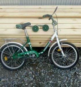 Велосипед, два колеса