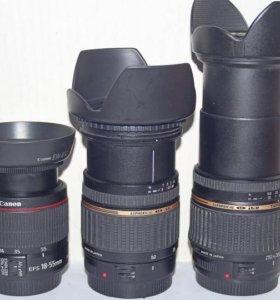 Автофокусные объективы Canon