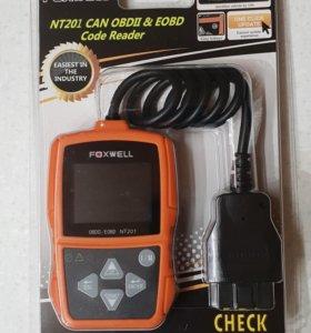 Автомобильный сканер, Foxwell NT201, рус