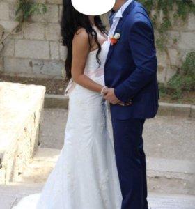Свадебный костюм 50-52