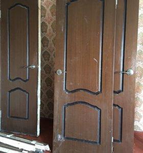 Двери м/к 3 шт за все