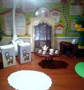 Мебель для кукол   Столовая