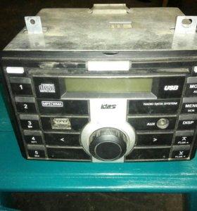 Магнитолла MP3 USB AUX 2din