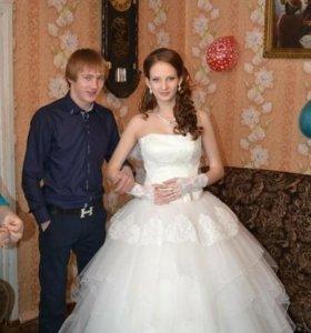 Продаю дешево свадебное платье