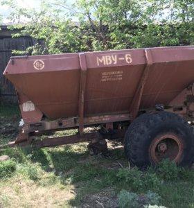 МВУ-6 для внесения удобрений
