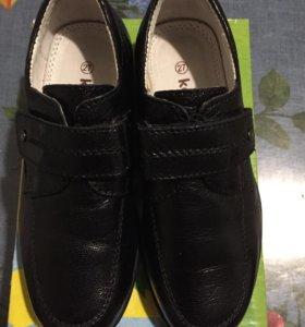 Туфли кожаные Kapika. р.27