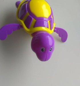 Заводная игрушка для купания!