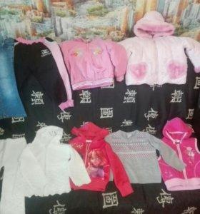Пакет одежды для девочки от 3 лет