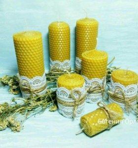 Лечебные свечи ручной работы