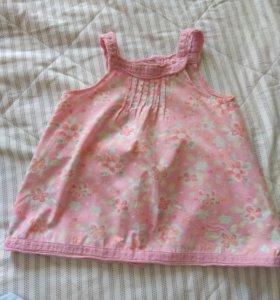 Платье новое хлопок Франция