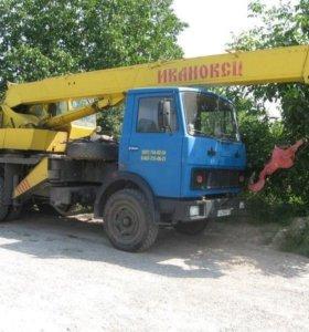 Услуги Автокрана 14 тонн