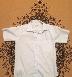 Рубашки на мальчика классика на рост 140