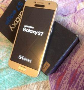 Samsung S7 Gold platinum, копии