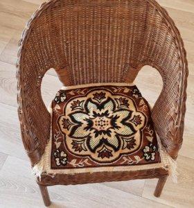 2 Кресла из ротанга Аген Икеа детские