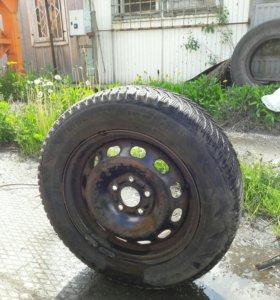 Колёса зимние от Вольво S 40 ,Форд фокус