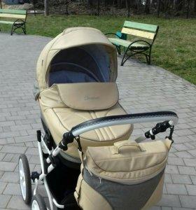 Детская коляска 2 в 1 indigo CARMEN Classic