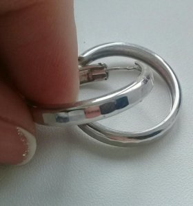 Серебро серьги (обмен на другое украшение серебро)