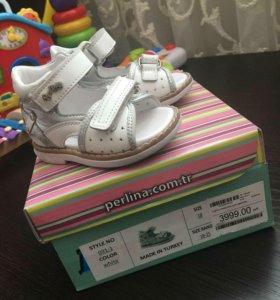 детские сандали orthopedic первые шаги