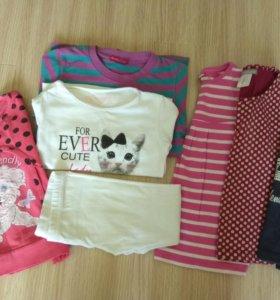 Вещи для девочки 3-4 года (пакетом)