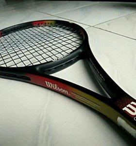 Теннисная ракетка Wilson PRO🏆+ ПОДАРОК🎁