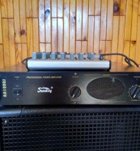 Усилитель Sound King AA1000J (2х250/8ом,2х380/4ом)