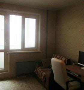 Квартира, 1 комната, 36.5 м²