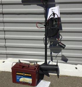 Толлинговый электромотор с аккумулятором