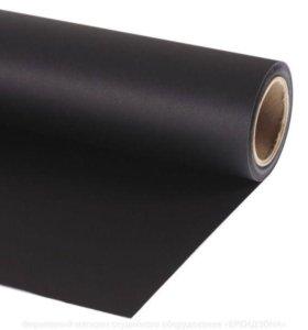 Фон бумажный Black 2.75x11m фирмы Lastolite