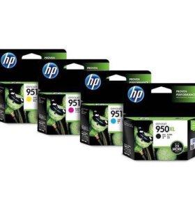 Картриджи HP 950/951XL