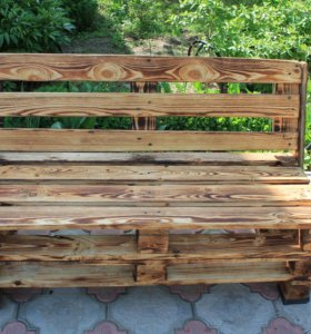 Скамейка для сада/беседки