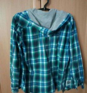 Рубашка с капюшоном подростковая