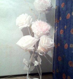 Ростовые цветы. Интерьерная стойка