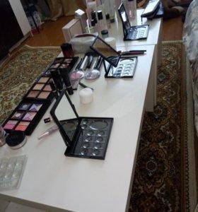 Профессиональный макияж, подбор средств для кожи