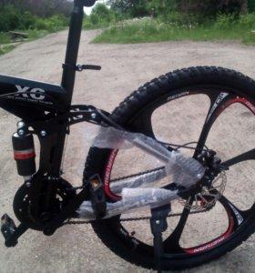 Продам велосипед bmv на литых дисках