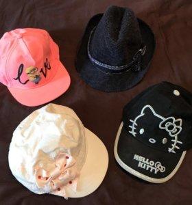 Бейсболки, шляпы