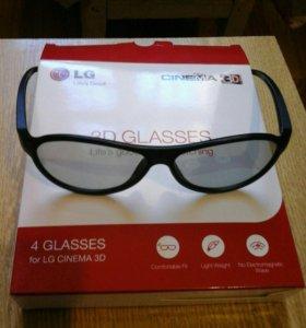Очки 3D новые.