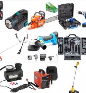 Инструменты для ремонта и монтажных работ