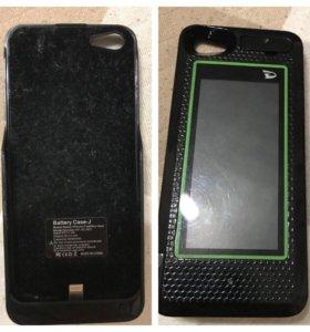 Батарейка-чехол для айфона